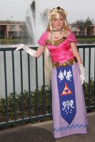 Zelda at the con 1 by Bodici22