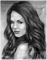 Rebecca Herbst by pat-mcmichael