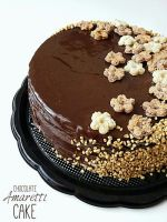 Chocolate Amaretti Cake by MeYaIeM