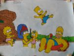 The simpsons by RebeccaG1999