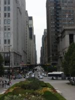 Down Town Chicago by rose134265