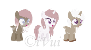 Blizzy Breedable Foals for Mondobutt ((OPEN)) by iVuiAdopts