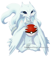 Reshiram by HidesBehindThings