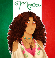 .:APH:. Mexico by kamillyanna