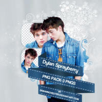 PNG PACK (3) dylan sprayberry by ekinwinchester