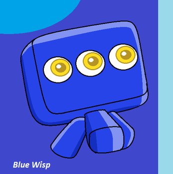 Blue Wisp by JerrythePlayer360
