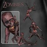Zombies by zememz
