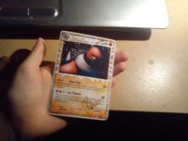 Mucrush TCG card IRL by Pokemon-Diamond