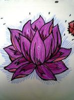 Lotus Flower #2 by Maudpx