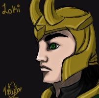 the God of Mischief by girloveslink