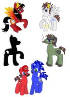 VG Ponies by Cloba94
