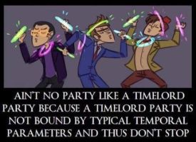 Ain't No Party Like A Timelord Party! by Spoiler100