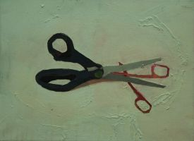 two scissors by petersulo