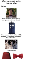 Why you should watch Doctor Who. by jamdoughnutmagician