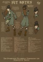 LoT: Kit Bates by manic-pixie