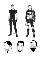 K 2012 Character sheet - Inspector Casati by Afterlaughs