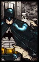 MiniMasterpieces - The Batman by NicolasRGiacondino