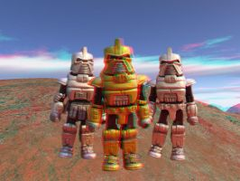 By Your Command - Anaglyph by LittleBigDave