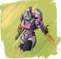 Arcee - first try by crimson-nemesis