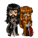 Adventures of Thorin and Gloria by keokotheshadowfang
