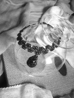 Gothic Choker With Black Tear by ChrisOnly