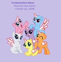 Mlp Base:All together now! (BASE) by Tornblackribbons