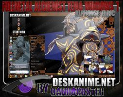 Alphonse Elric Theme Windows 7 by Danrockster