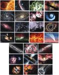SPACE! sketch cards by tdastick