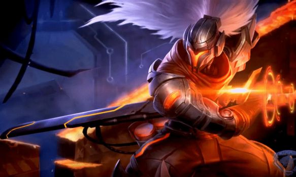 [League of Legends] PROJECT: Yasuo (GIF) by PopokuPinguPop90