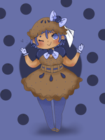 Blueberry Pie Girl Adoptable Auction by Ask-MusicPrincess3rd