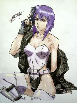 Ghost in The Shell:Stand Alone Complex - Motoko by NemoraliaEgnever