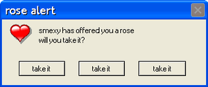 Error Message smexy's rose by darkdragonqueen3000