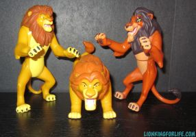 Lion King 'Fight to the Finish' Figures by LionKingForLife