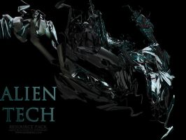 Alien Tech Render Pack by LoganGFX