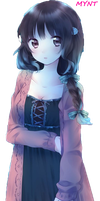 [25112015] Render Anime Cut By Me by quetrampd