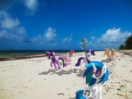 On The Beach by OJhat