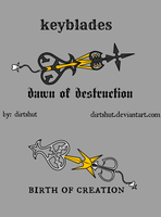 KEYBLADE CONTEST customize designs by dirtshut
