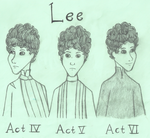 Three Faces of Lee by SquiddlePrincess