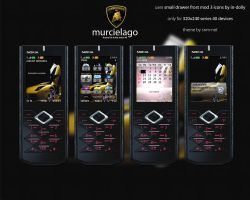 Murcielago Nokia Theme by snm-net