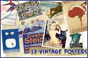 Vintage Posters I by lady-vicious