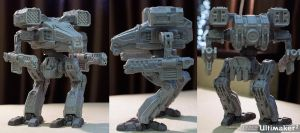 3d printed remix mech new madcat by ksn-art