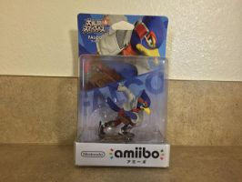 Fast Falco amiibo Get by All-StarWarriors