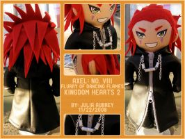 Axel Plush - Version 1 by jaubrey