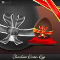 Chocolate Easter Egg -new egg- by Chozo-MJ