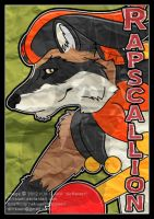 Rapscallion digi paper badge2012 by AirRaiser
