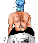 Back Muscles (More Tablet Practice) by PamelathePanther