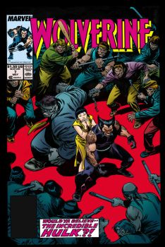 Buscema Wolverine #7 color update by SpicerColor