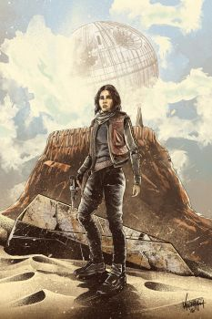 Jyn Erso by thefreshdoodle