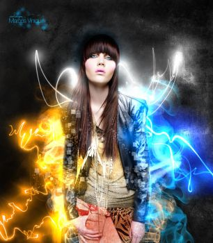 Electrifying light Efect by marcoswebdesign