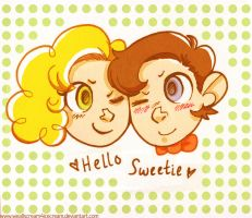 DW: Hello Sweetie by weallscream4icecream